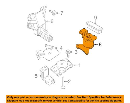 small resolution of details about nissan oem 05 15 frontier engine motor mount torque strut 113209ca0c