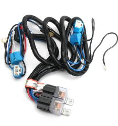 auto h4 headlight ceramic headlamp wiring harness relay 4 9003 headlight wiring led headlight wiring diagram 1986 gmc [ 1000 x 1000 Pixel ]