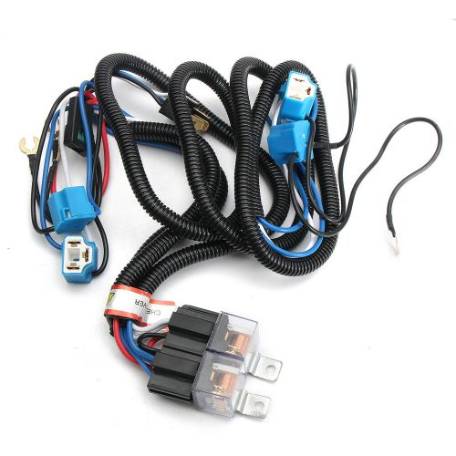 small resolution of auto h4 headlight ceramic headlamp wiring harness relay 4 9003 headlight wiring led headlight wiring diagram 1986 gmc