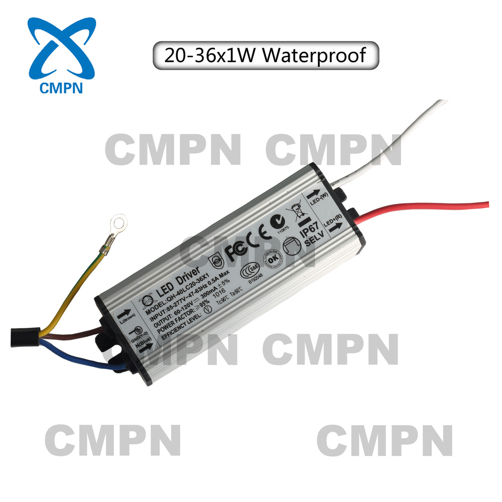 High Power Supply AC 85-277V Constant Current LED Driver