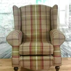 Grey Sofas Barbie Sofa Bed Wing Back/queen Anne Balmoral Heather Brown/plum/green ...