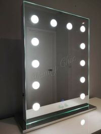 Frameless Hollywood Makeup Mirror with lights, Vanity Make ...