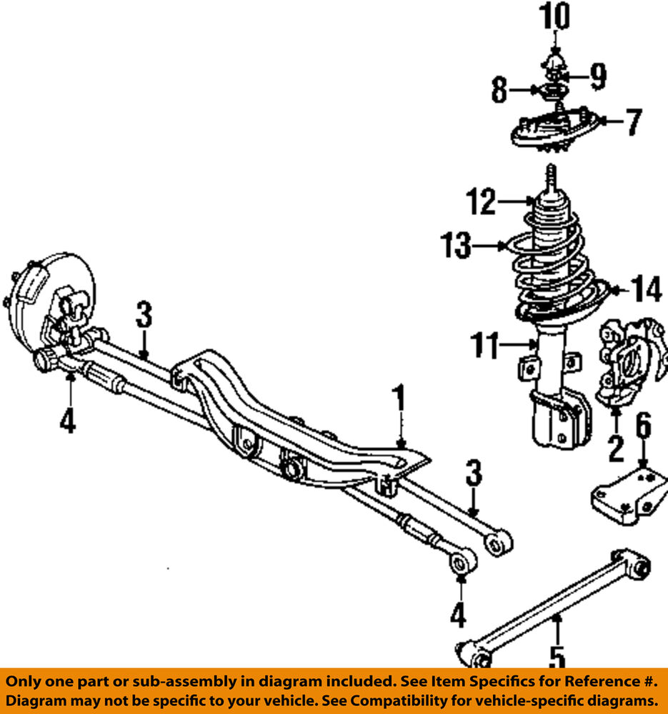 hight resolution of details about gm oem rear trailing control arm bracket 10262701