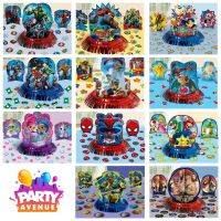 Licensed Birthday Party Table Decoration Kit Marvel DC
