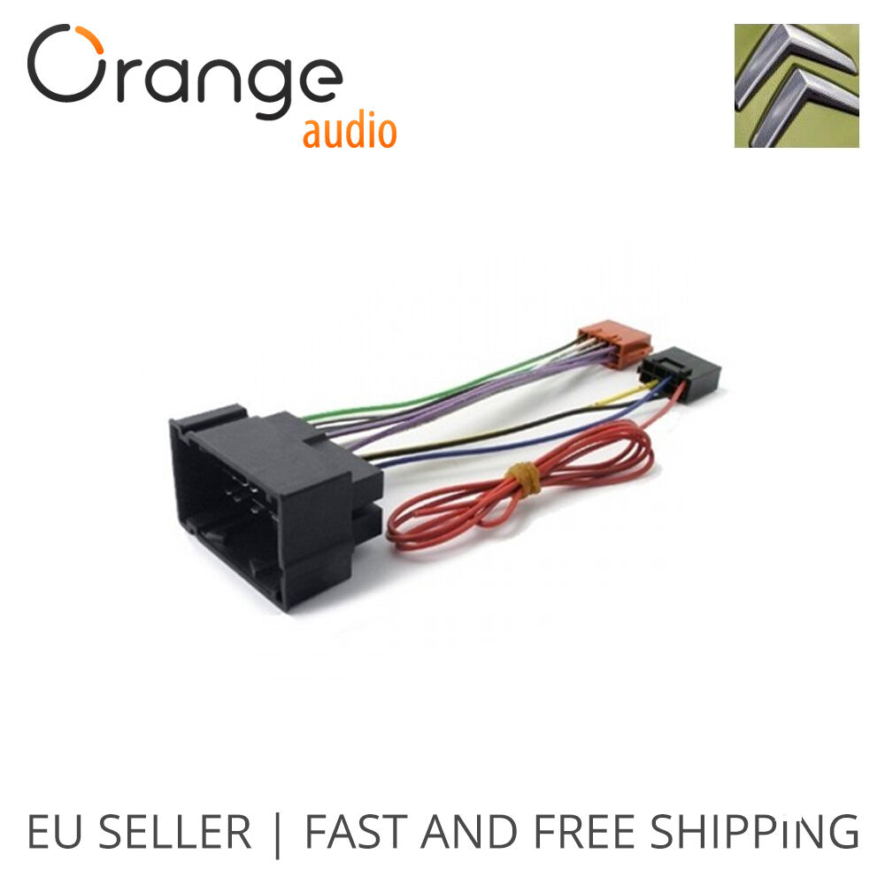 medium resolution of details about wiring harness adapter for citroen jumper 14 iso connector stereo plug adaptor