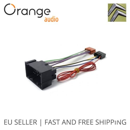 small resolution of details about wiring harness adapter for citroen jumper 14 iso connector stereo plug adaptor