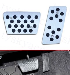 details about at car brake accelerator gas oil foot pedal cover for jeep wrangler jk 2007 2017 [ 1000 x 1000 Pixel ]
