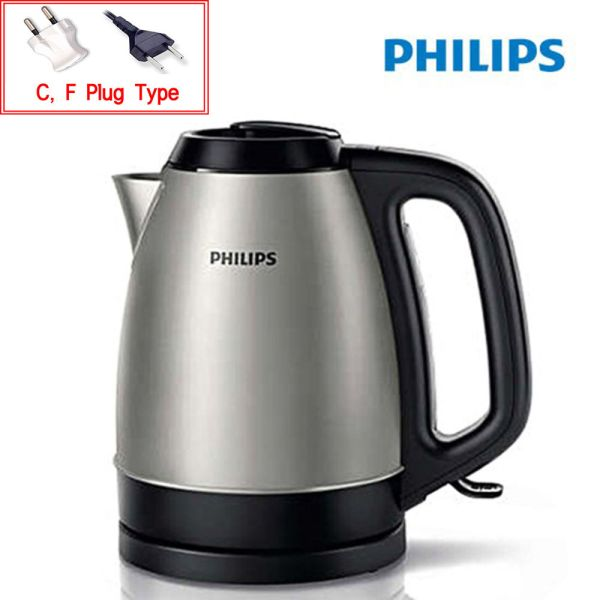 Philips Hd9305 Electric Kettle 1.5l 2200w Metal Hot Water Pot 220v 741685072004