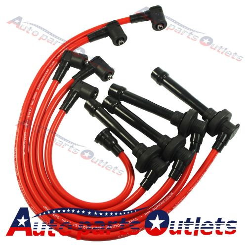 small resolution of details about spark plug wire set for honda 92 00 civic del sol eg ek ej d15 d16 spiral core