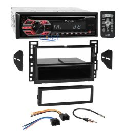 details about pioneer cd mp3 aux stereo single din dash kit harness for 06 07 saturn ion vue [ 1000 x 1000 Pixel ]
