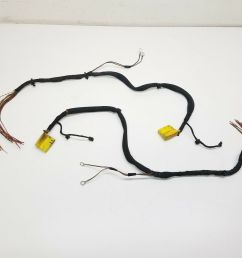 details about 2014 porsche carrera 911 991 right left seat wire loom wiring harness set oem [ 1000 x 944 Pixel ]