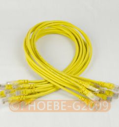 details about lot 10 cables 27in 70cm 568b cat5e utp ethernet rj45 patch cable network cable [ 1000 x 1000 Pixel ]