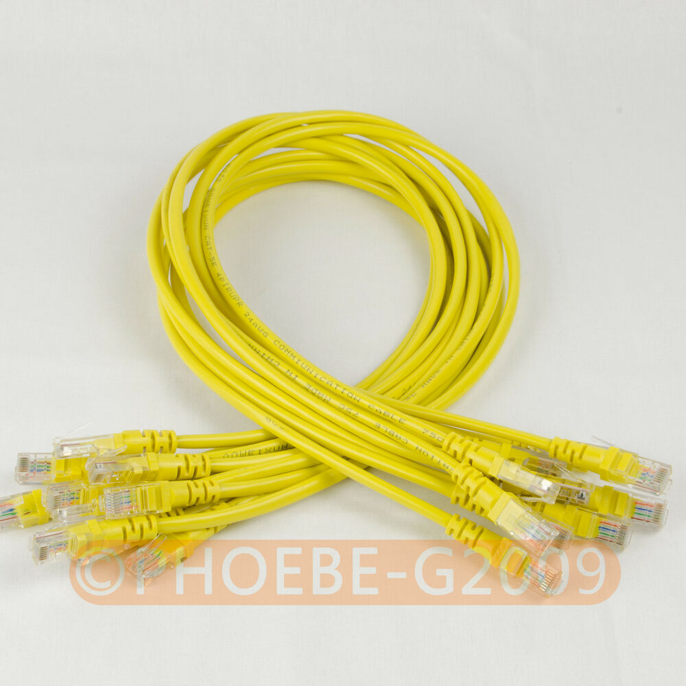 hight resolution of details about lot 10 cables 27in 70cm 568b cat5e utp ethernet rj45 patch cable network cable
