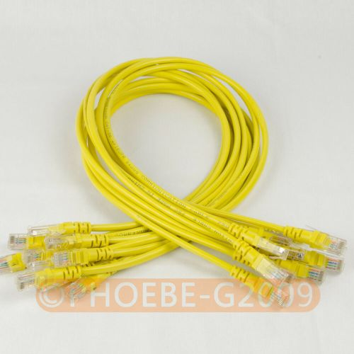 small resolution of details about lot 10 cables 27in 70cm 568b cat5e utp ethernet rj45 patch cable network cable