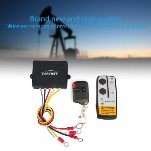small resolution of details about 50ft 12v electric wireless remote control for truck jeep atv winch capstan