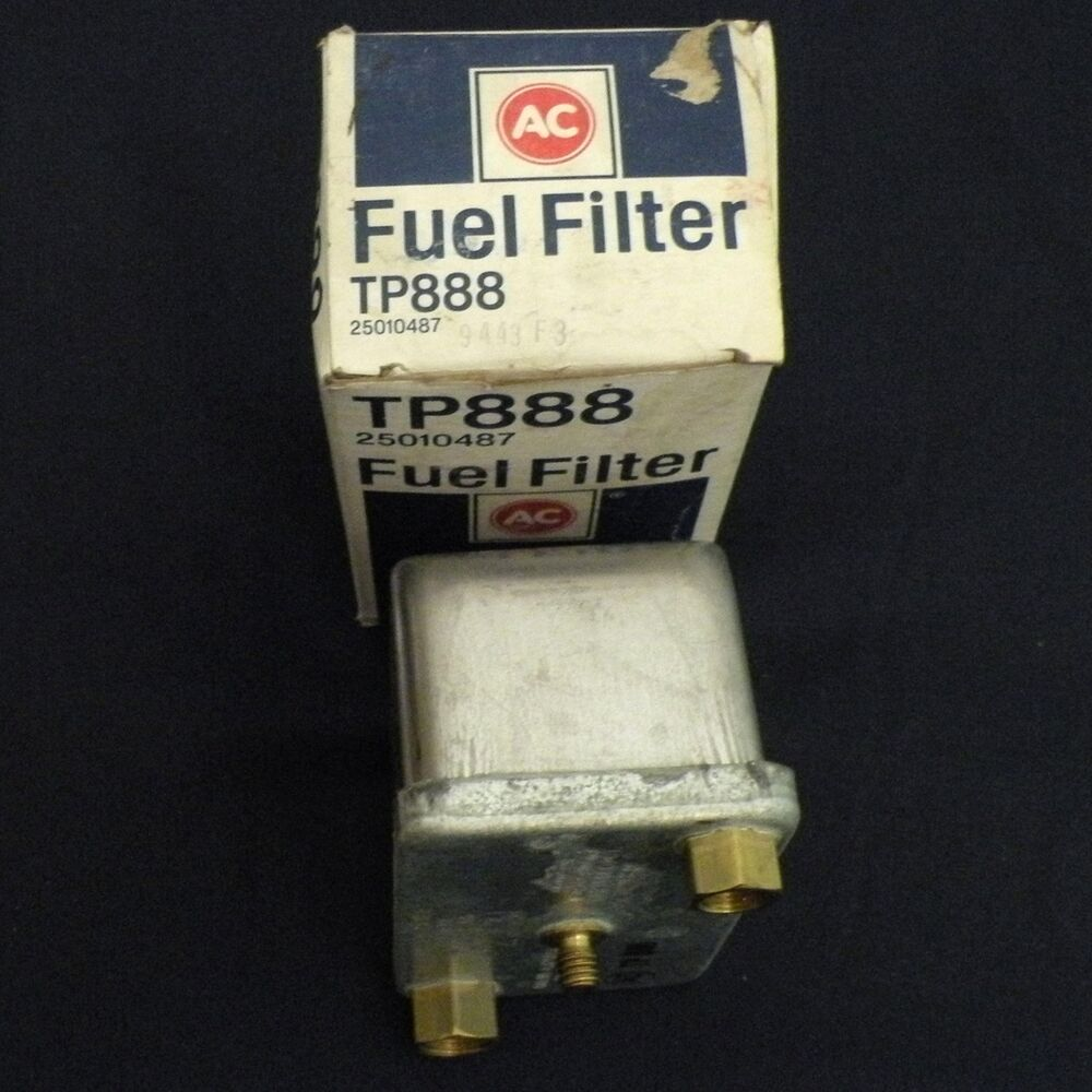hight resolution of details about nos 1978 1981 chevrolet c10 pickup fuel filter gm ac delco tp888 25010487