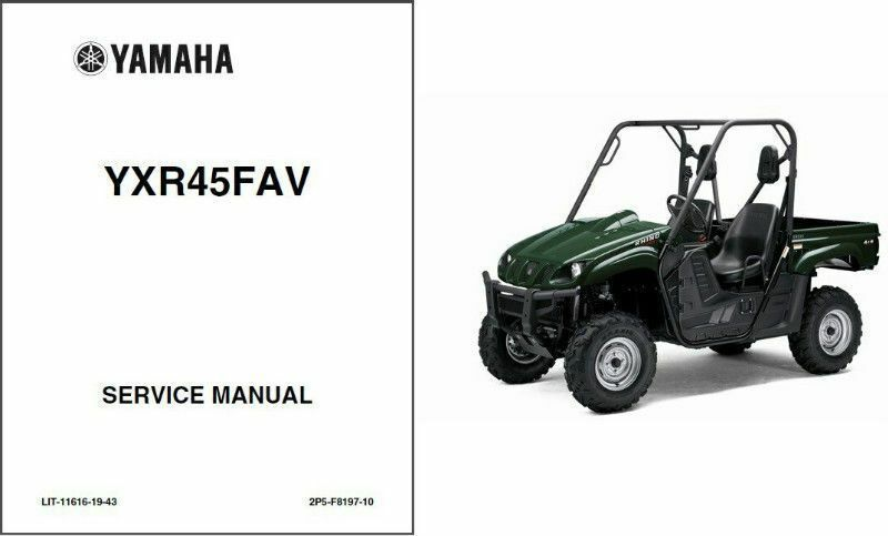 2006-2009 Yamaha Rhino 450 UTV Service Repair Manual CD