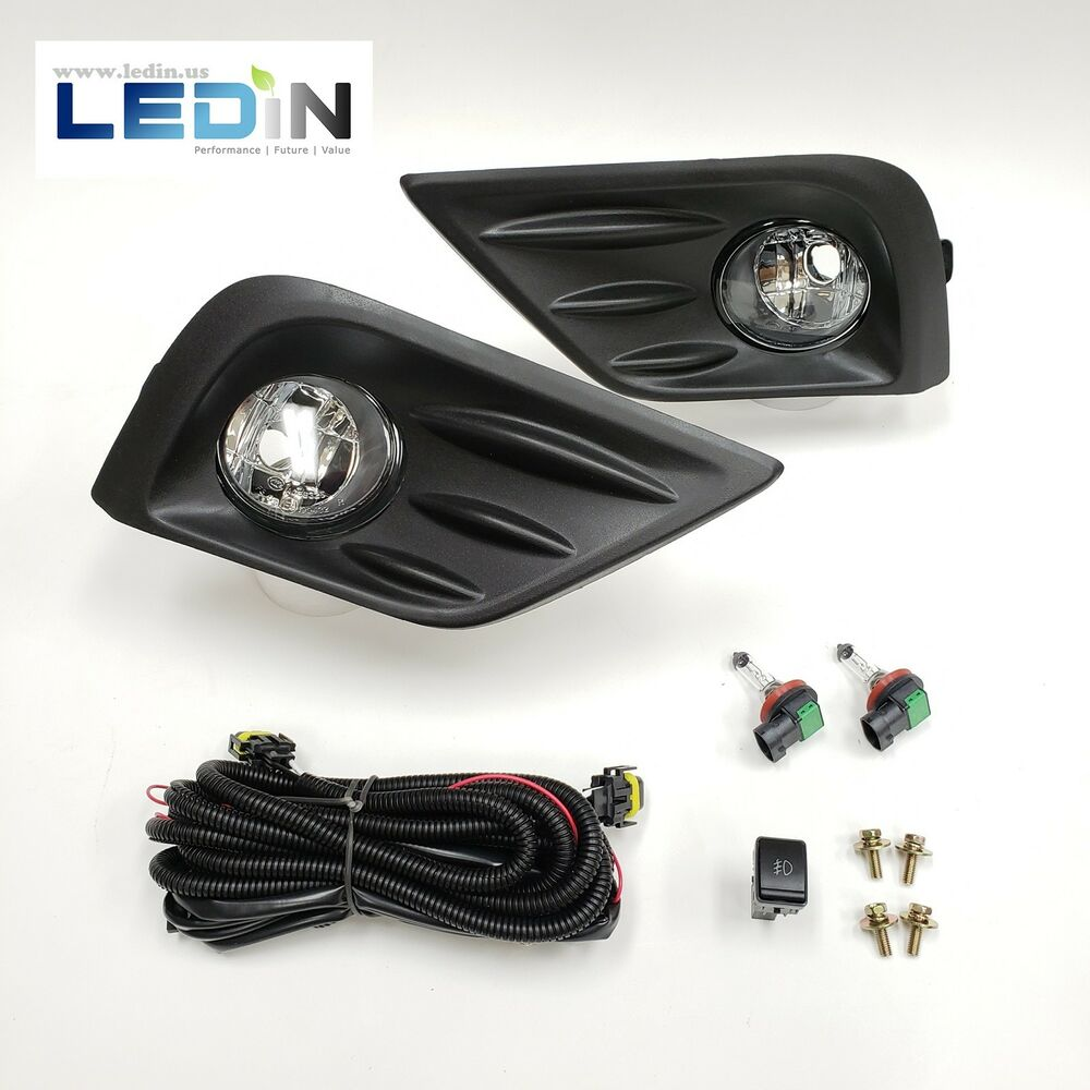 hight resolution of details about fog light kit for 16 18 nissan altima wire harness switch bezel left right set