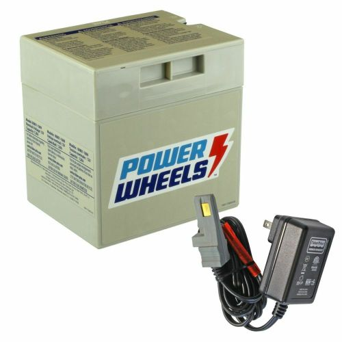 small resolution of details about power wheels 12v gray battery with charger gry12vpow kit
