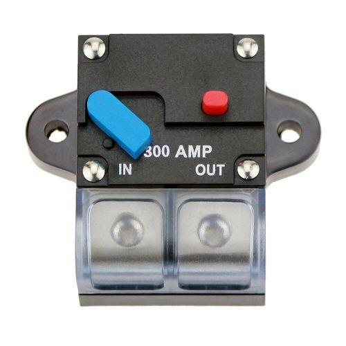 small resolution of details about 12 42v dc 300a circuit breaker trolling motor auto car marine boat bike stereo
