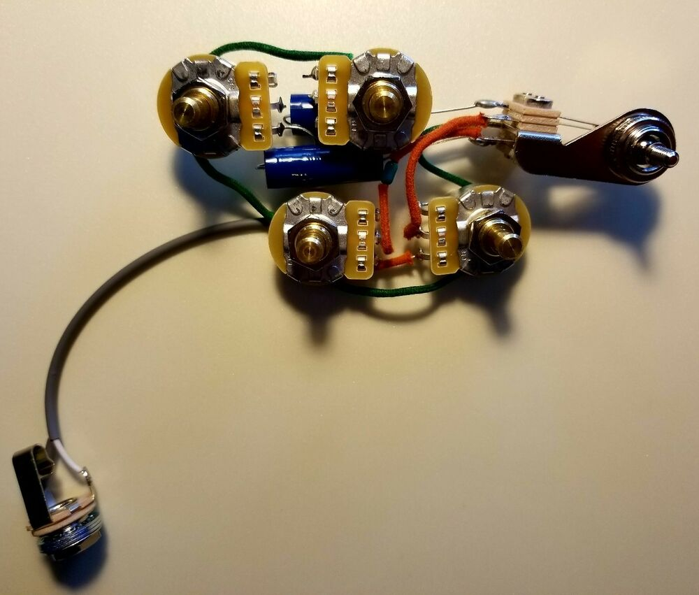hight resolution of rickenbacker 4001s v63 c64 4001cs 480 wiring harness w sozo tone caps ebay