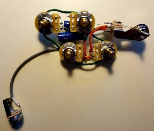 small resolution of rickenbacker 4001s v63 c64 4001cs 480 wiring harness w sozo tone caps ebay