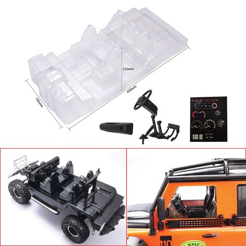 small resolution of details about car interior decoration transparent body shell for traxxas trx4 defender d110 rc
