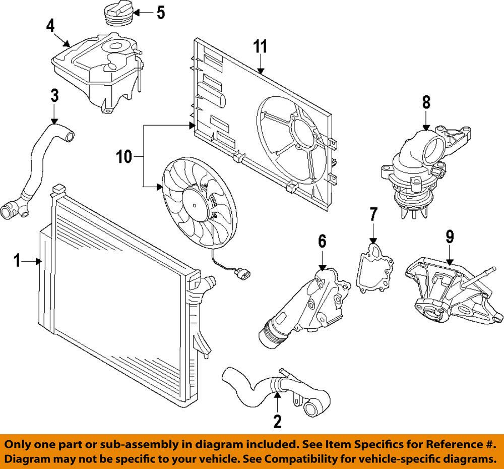 hight resolution of details about vw volkswagen oem 11 15 touareg engine coolant thermostat 06e121111al