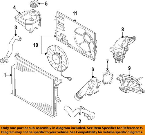 small resolution of details about vw volkswagen oem 11 15 touareg engine coolant thermostat 06e121111al