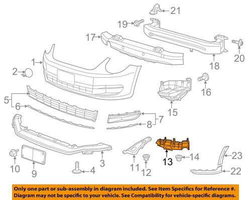 small resolution of details about vw volkswagen oem 12 16 beetle front bumper grille grill guide right 5c5807184a