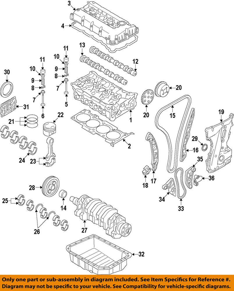 hight resolution of details about hyundai oem 11 15 sonata exhaust camshaft cam 242002g800