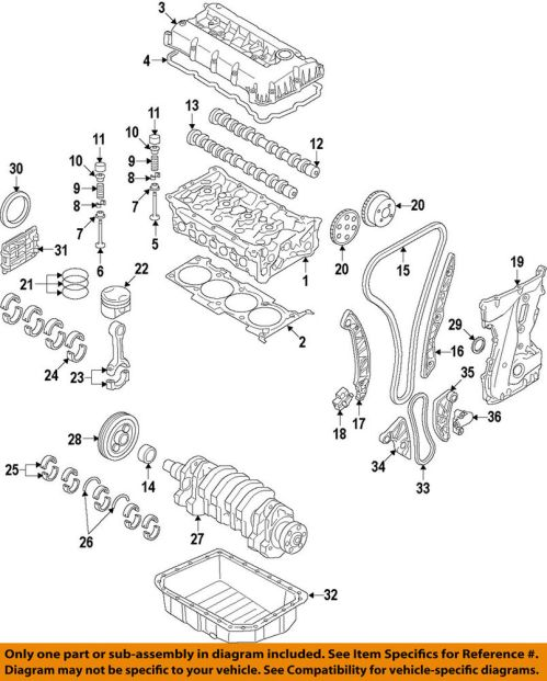 small resolution of details about hyundai oem 11 15 sonata exhaust camshaft cam 242002g800