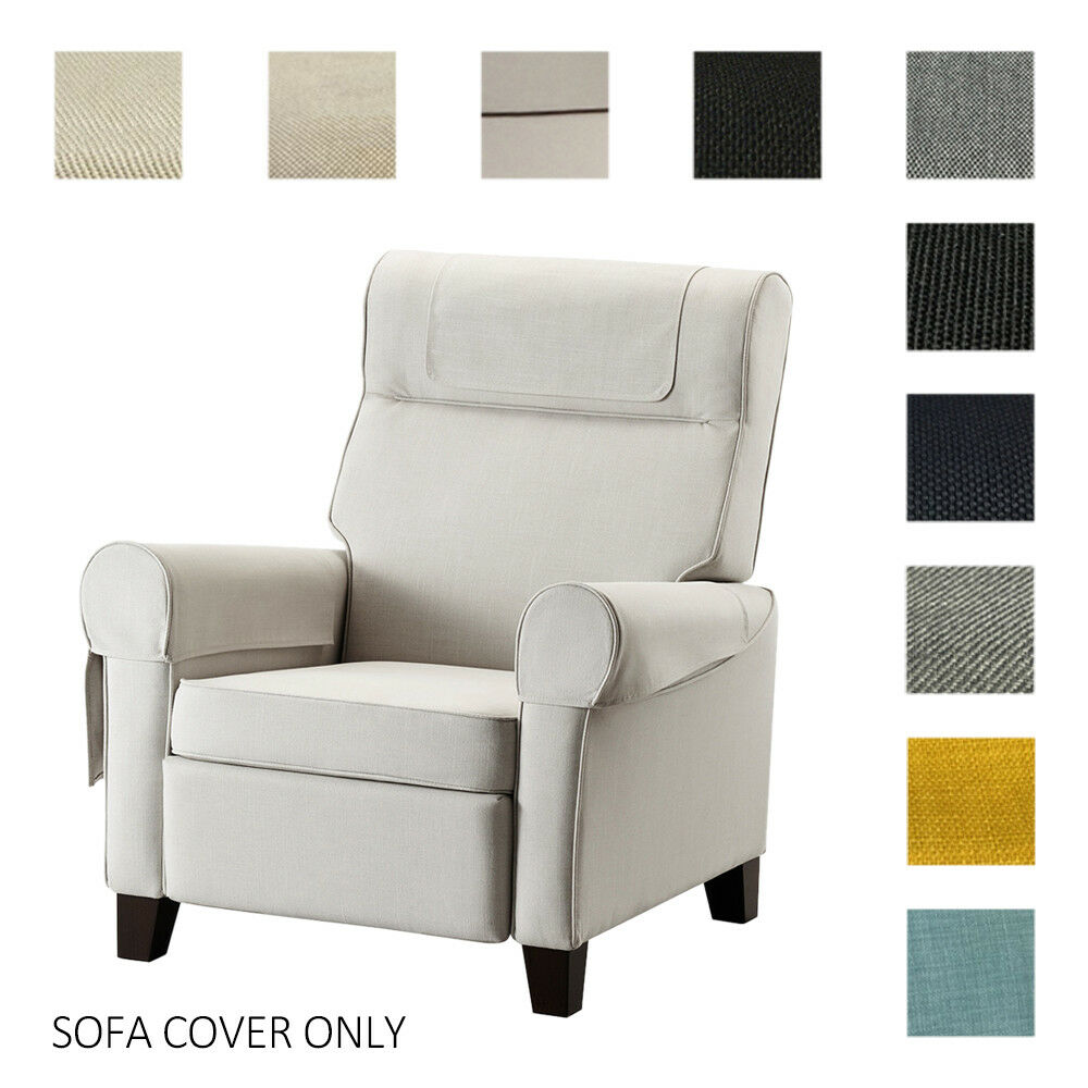 Slip Cover For Chair Fits Ikea Muren Armchair Cover Replace Slipcover Custom Made Single Chair Wcv Ebay