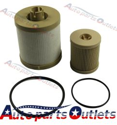 details about new fuel filter for ford f250 350 450 diesel 6 0l powerstroke fd4616 fd4604 [ 1000 x 1000 Pixel ]