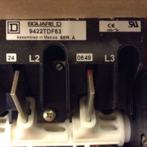 small resolution of details about square d fusible disconnect switch 9422tdf63 series a with fuse holder new other