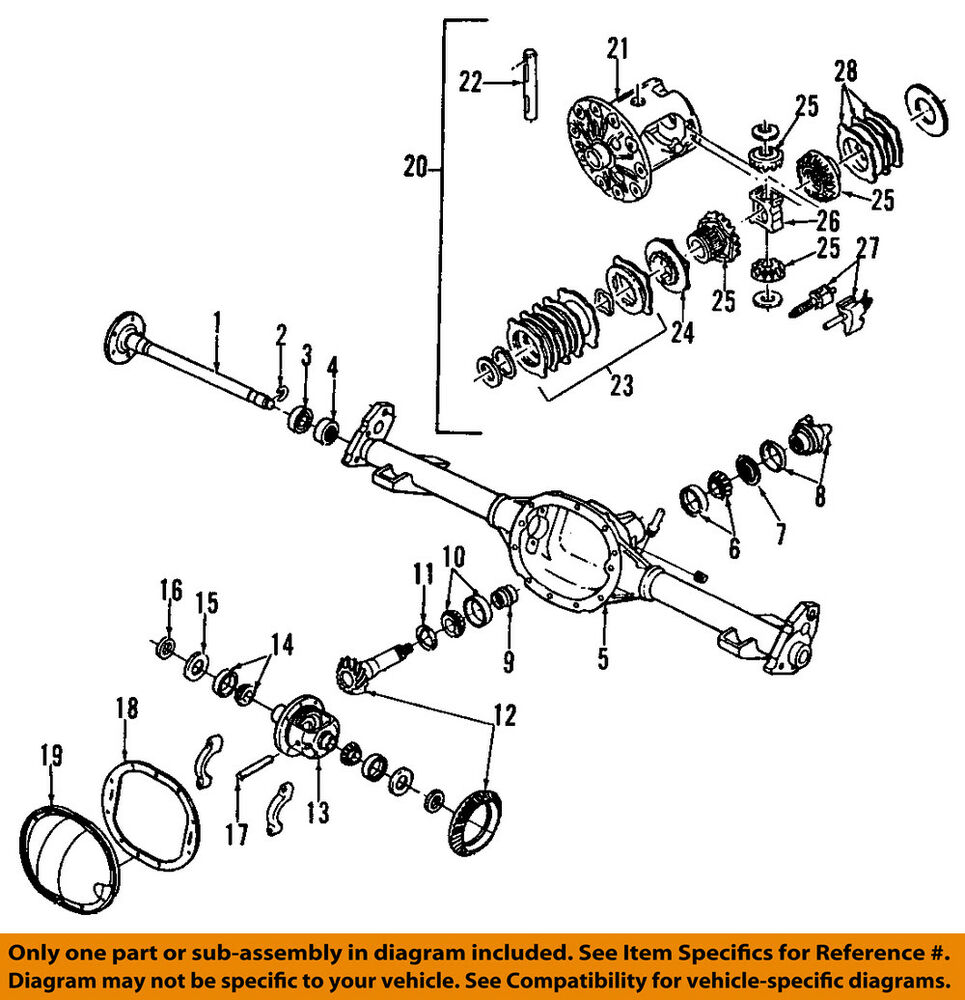 medium resolution of details about gm oem rear axle seals 26029139