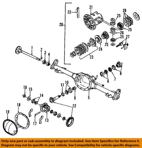 small resolution of details about gm oem rear axle seals 26029139