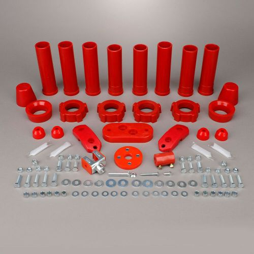 small resolution of details about 1959 1965 volkswagen beetle ghia red urethane suspension bushing kit 308037