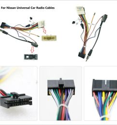 details about for nissan android stereo dvd player 20 pin wire harness connector adapter cable [ 1000 x 1000 Pixel ]