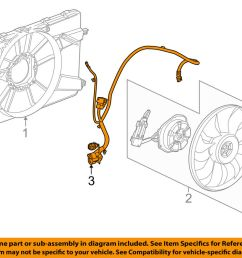 details about chevrolet gm oem 14 15 cruze 2 0l l4 engine cooling fan wiring harness 94556236 [ 1000 x 798 Pixel ]