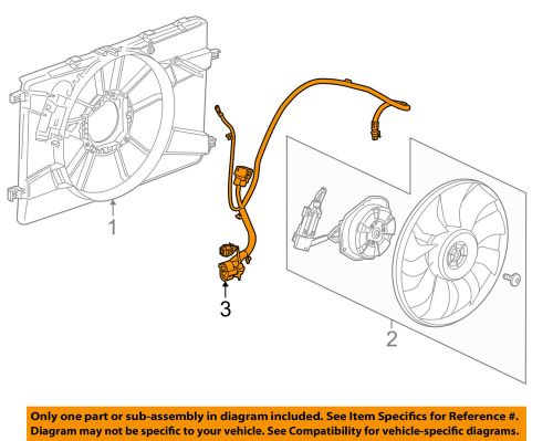 small resolution of details about chevrolet gm oem 14 15 cruze 2 0l l4 engine cooling fan wiring harness 94556236