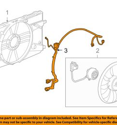 details about chevrolet gm oem 11 15 cruze 1 4l l4 engine cooling fan wiring harness 94556239 [ 1000 x 798 Pixel ]
