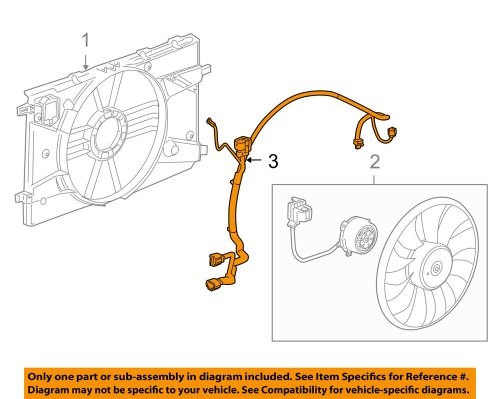 small resolution of details about chevrolet gm oem 11 15 cruze 1 4l l4 engine cooling fan wiring harness 94556239