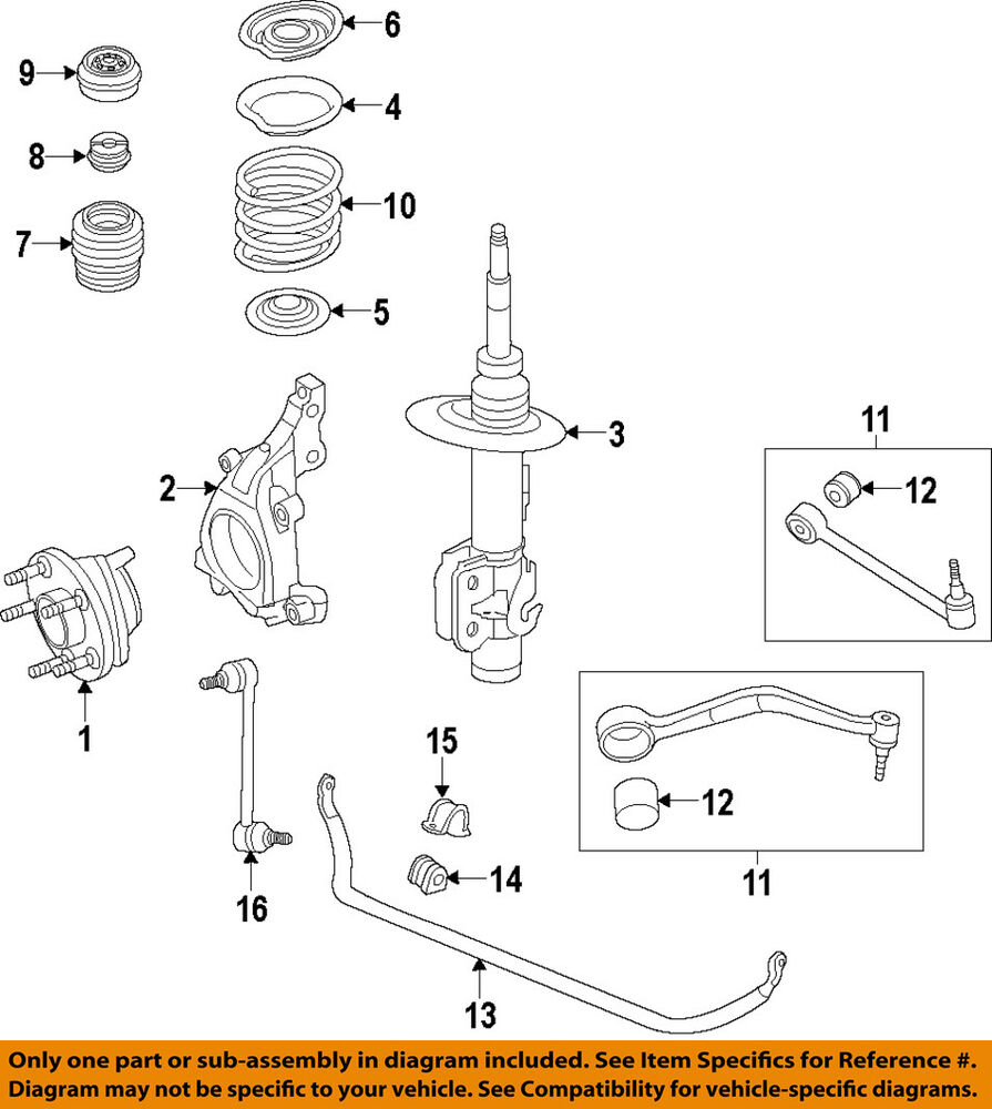 medium resolution of details about chevrolet gm oem 14 15 caprice stabilizer sway bar front bar 92266844