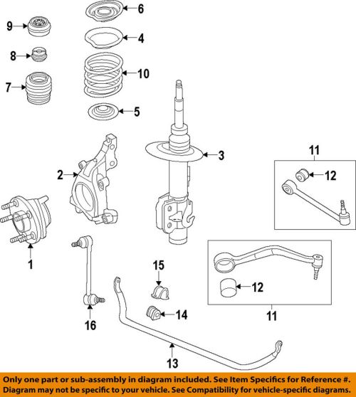 small resolution of details about chevrolet gm oem 14 15 caprice stabilizer sway bar front bar 92266844
