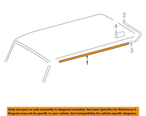 small resolution of details about mercedes mercedes benz oem 02 05 g500 roof molding trim 4606980901