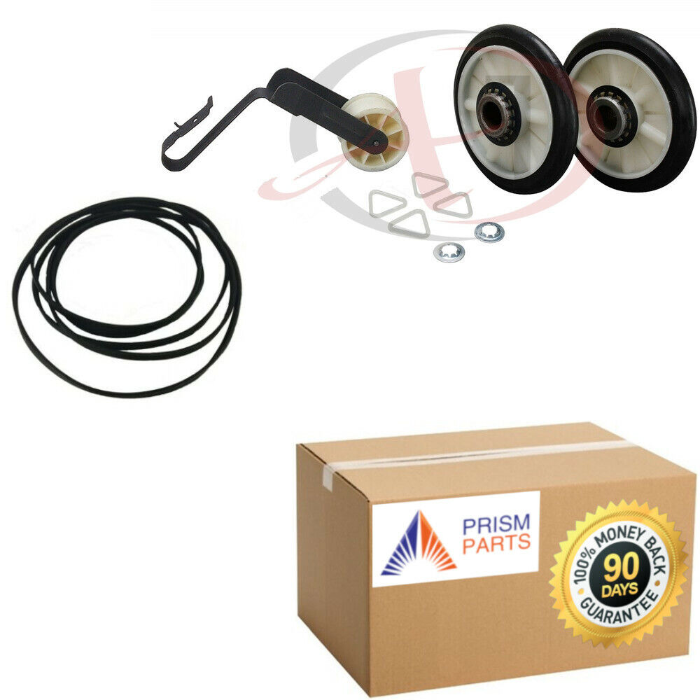 hight resolution of details about for sears kenmore dryer repair maintenance kit belt pulley rollers px2491313x452