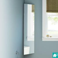 600 x 400mm Stainless Steel Mirror Cabinet
