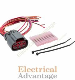 details about transmission wire harness repair kit for solenoid block pack e4od 4r100 1995 up [ 1000 x 1000 Pixel ]
