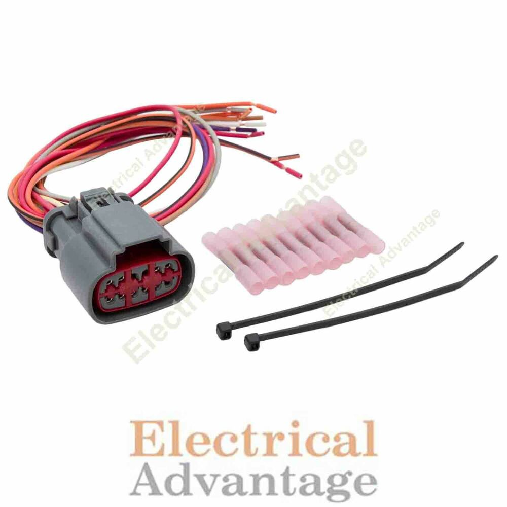 hight resolution of details about transmission wire harness repair kit for solenoid block pack e4od 4r100 1995 up